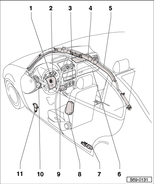 f150 front impact sensor