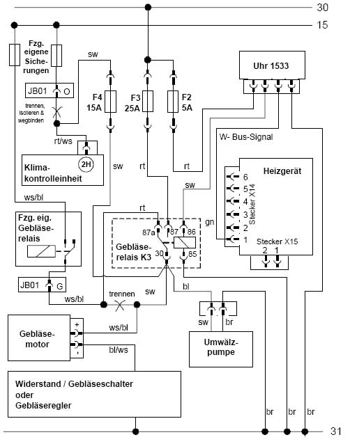 2002 mazda b3000 cooling system diagram
